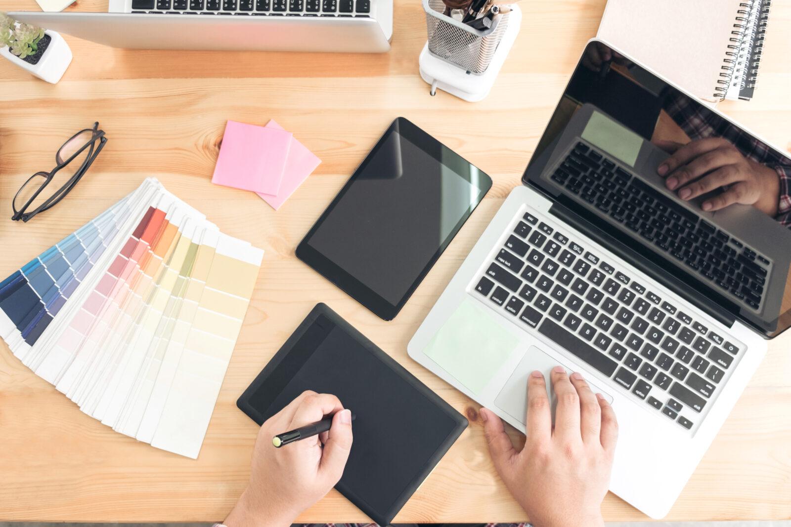 تاثیر رنگ ها را در طراحی کاتالوگ آنلاین دست کم نگیرید!!